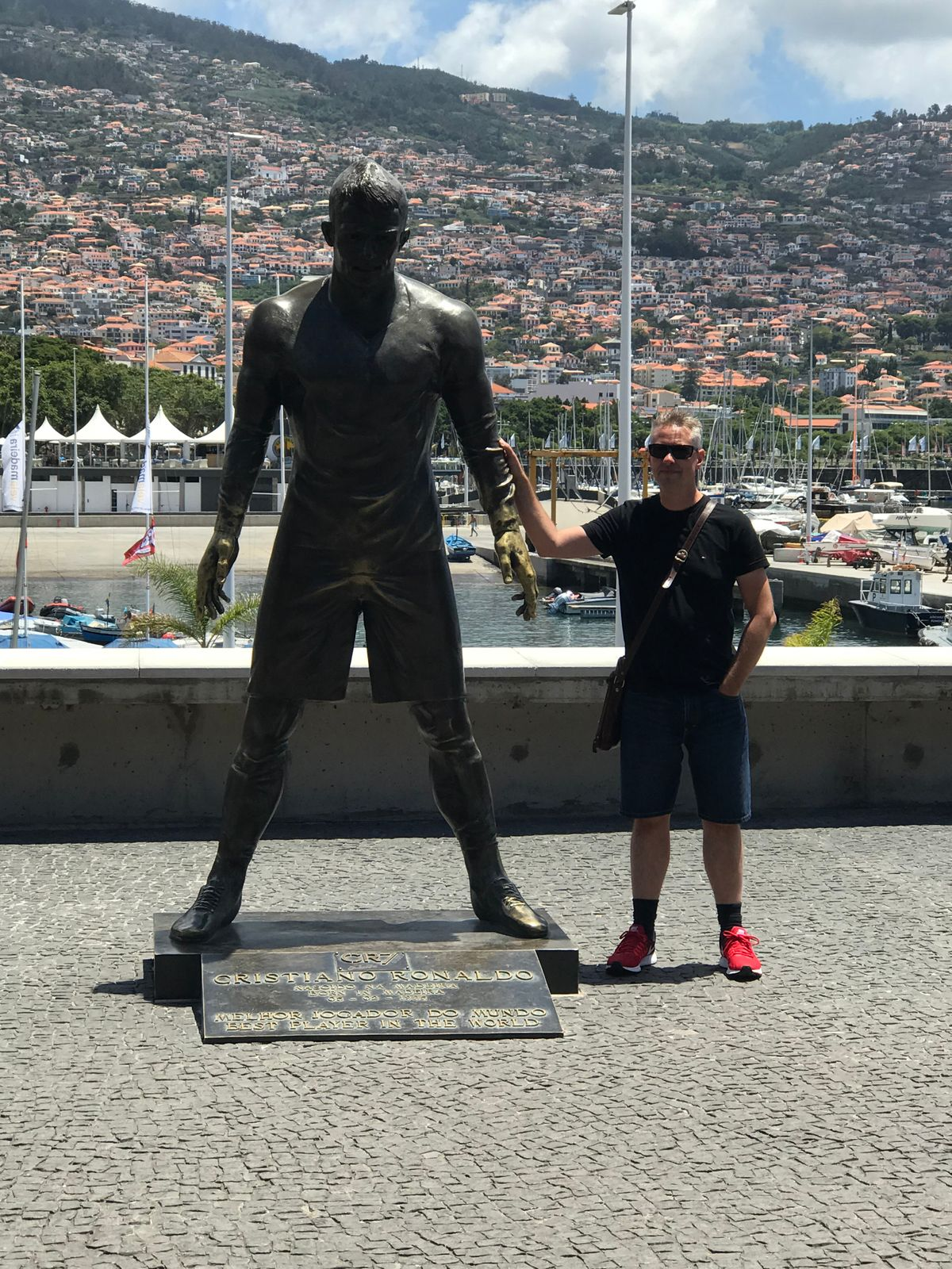 funchal - am CR 7 museum